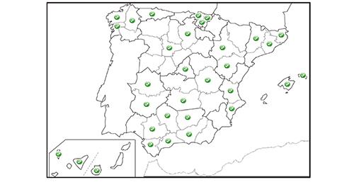 Proyectos IDE a nivel local en España