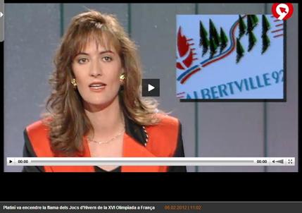 Editado informativo de 1992 con fecha de emisión de febrero de 2012 (Canal 9)